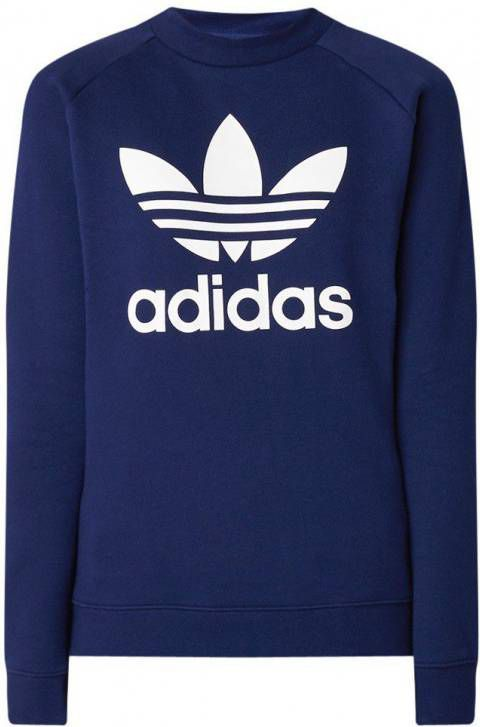 Adidas Originals Trefoil Crew Sweatshirt Junior Blauw Kind