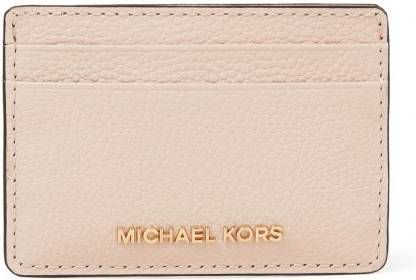 Michael Kors Jet Set pasjeshouder burnt orange