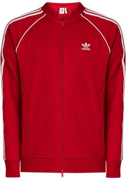 Adidas Originals Superstar Track Top Rood Heren ...
