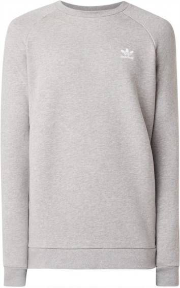 Adidas Originals Trefoil Essential Crew Sweatshirt Heren Grijs Heren