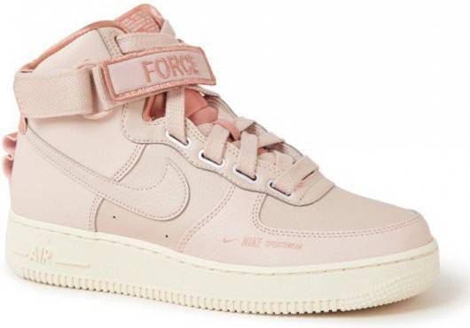 Nike Air Force 1 High Utility Dames Roze Dames ...