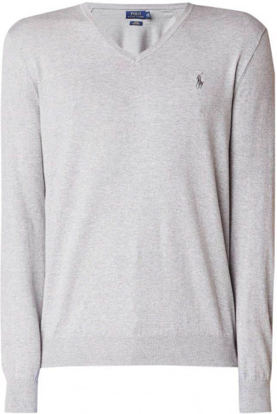 timeless design 803d9 c0656 Ralph Lauren Slim fit pullover van Pima katoen
