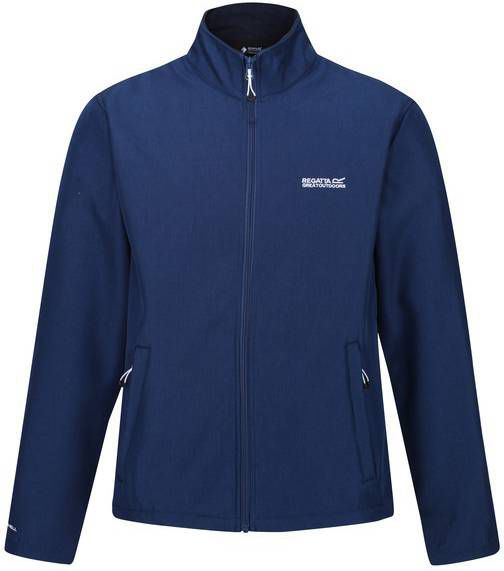 Regatta softshell jas Carby heren blauw mt 3XL