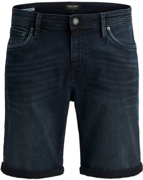 JACK & JONES Super stretch Denim Short Heren Blauw