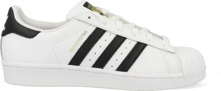 Adidas Superstar Originals C77124 Wit Zwart maat 42 23