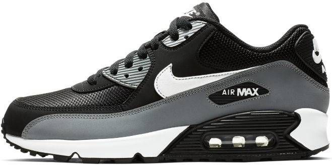 Kopen Nike Air Max 90 Essential Zwart Anthracite Wit Nike