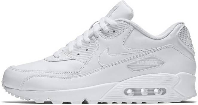 Nike Sneakers Air Max 90 Leather 302519-113 Wit-44 maat 44