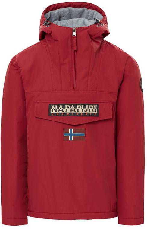 Winterjas Xs Heren.Napapijri Rainforest Padded Jacket Heren Rood Heren