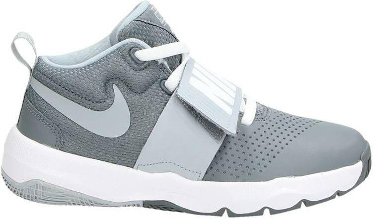 9b1c46b4941 Nike Team hustle D8 lage sneakers grijs. jongens,kinderen,schoenen ...