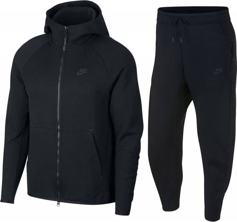 nike fleece tech heren