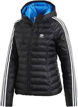 Adidas Originals 3 Stripes Slim Padded Jacket Dames Zwart Dames