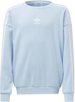 Adidas Originals Girls' Logo Crew Sweatshirt Junior Blauw