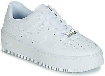 Nike Dames Air Force 1 Sage Low WitDigital Roze