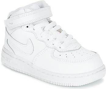 Nike Air Force 1 Mid Schoen baby'speuters Wit