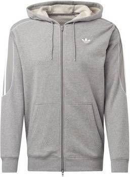 Hoodie Grijs Heren.Adidas Originals Radkin Full Zip Hoodie Heren Grijs Heren