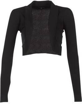 Morgan trui met sierstenen zwart Jassenshoponline.nl