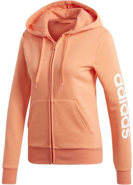 Adidas Essentials Linear Full Zip Sportjas Dames