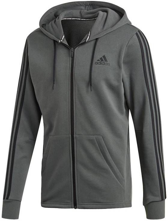 Adidas Must Have 3 Stripes French Terry Full Zip Trainingsjack Heren
