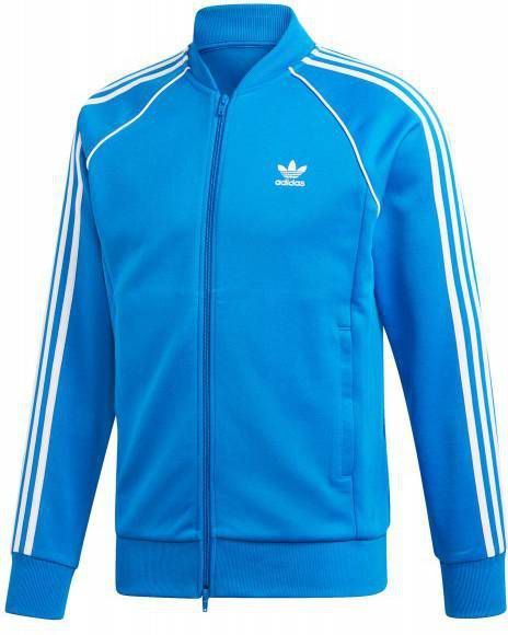 Adidas Originals Superstar Poly Track Top Heren Blauw Heren