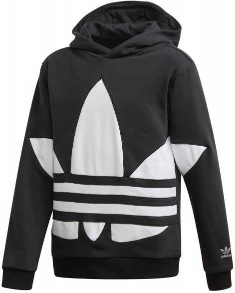 Adidas Originals Girls' Trefoil Overhead Hoodie Dames Roze Kind