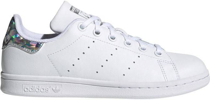 Adidas originals Stan Smith J leren sneakers witmulti