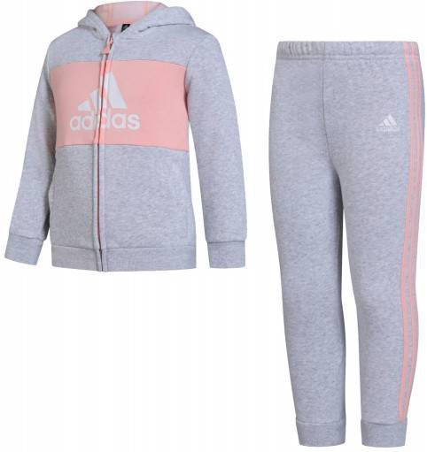 Adidas Originals Adicolour Full Zip Suit Kinderen Grijs Kind