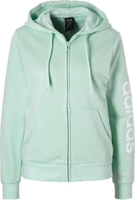 Trui Met Capuchon Dames.Essentials Linear Full Zip Sweater Met Capuchon Dames