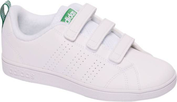 Adidas Advantage clean vs sneakers kids witgroen Kinderen