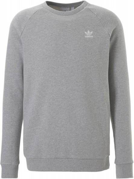 Adidas Originals Trefoil Essential Crew Sweatshirt Heren Grijs Heren