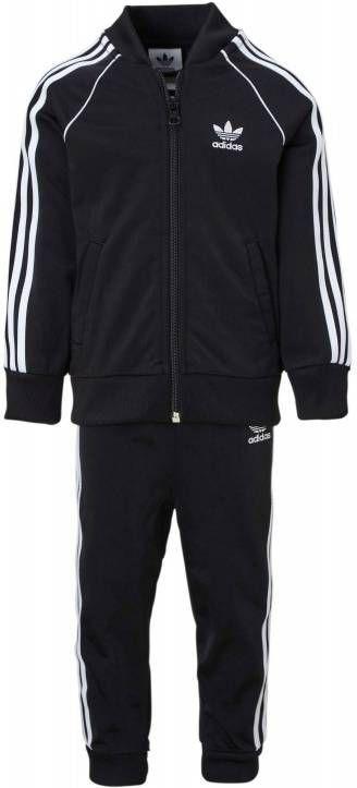 Adidas Originals Superstar Trainingspak Kinderen Zwart Kind