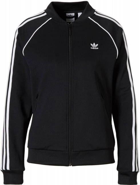 Adidas Originals Superstar Track Top Dames Zwart Dames