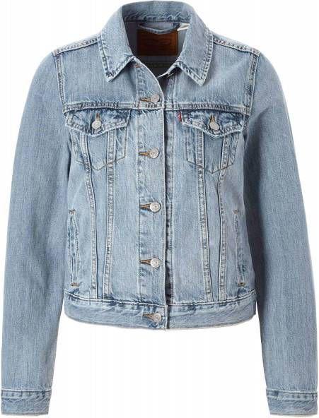 Levis 29945 0080 Original Trucker Jacket AND Jackets Women Denim Light Blue