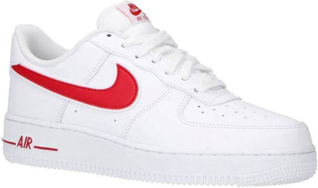 Nike Air Force 1 '07 Low Essential Heren Wit Heren