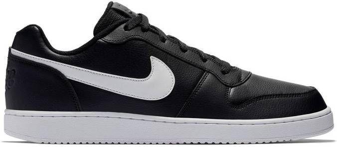 Nike Ebernon Low leren sneakers zwartwit