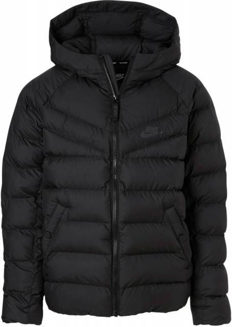 Nike Sportswear Padded Jacket Junior Zwart Kind