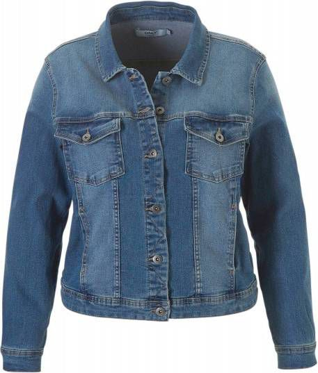 524220ed926 Only carWESPA Dnm.jacket Pim4203 Medium Blue Denim | Freewear Jeans ...