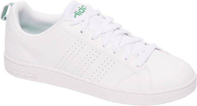 Advantage clean vs sneakers wit/groen dames